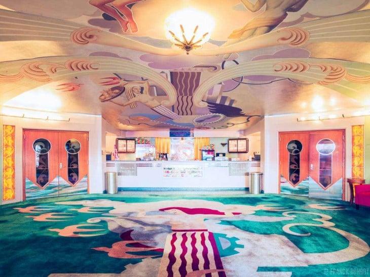 Lobby del cine Orinda en California