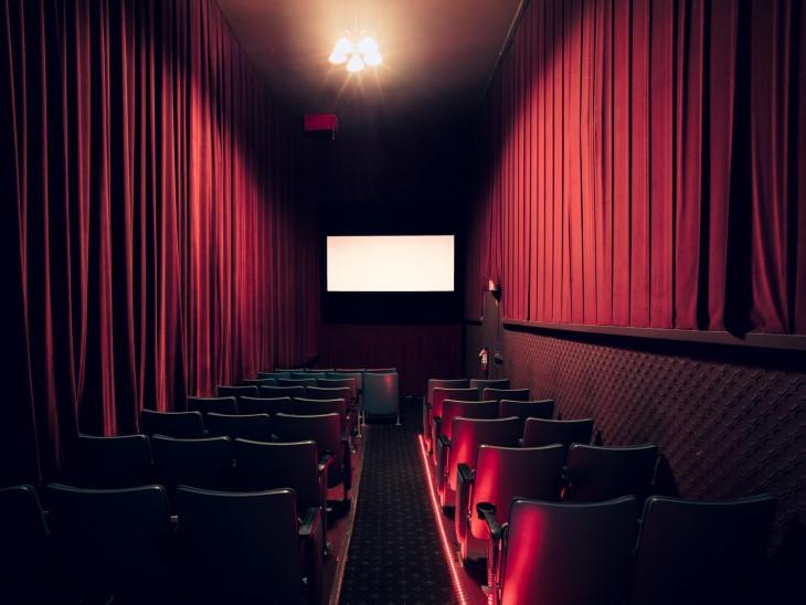 Vista trasera de un teatro en San Francisco