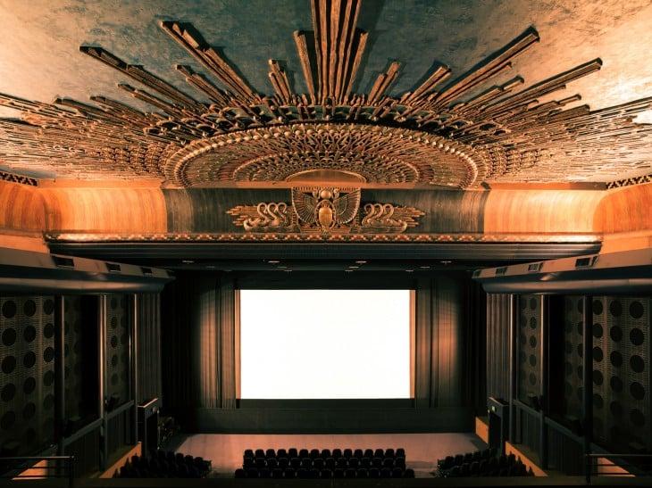 cineteca americana en Los Ángeles (Teatro egipcio)