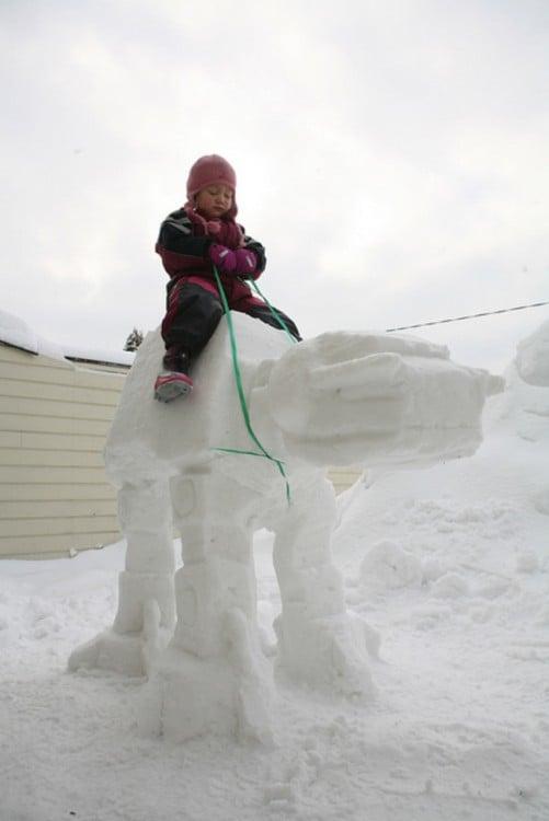 Muñeco de nieve Starwars