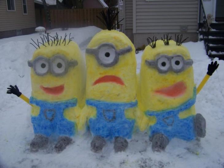 Muñeco de nieve 3 Minions