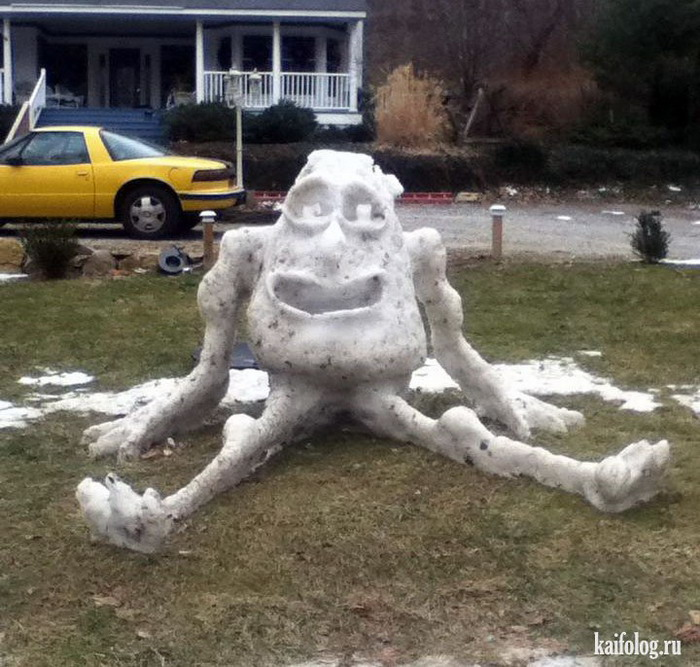 Muñeco de nieve Monsters Inc