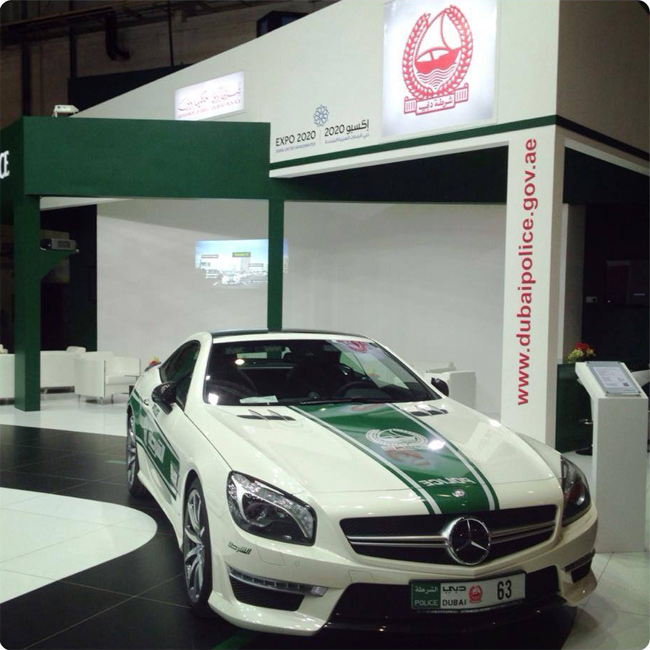 Patrulla Mercedes-Benz en Dubai