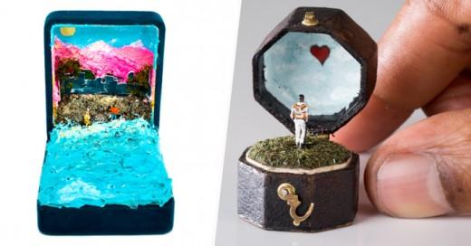 Dioramas miniaturas