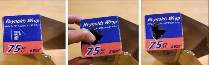 Caja de papel aluminio reynolds