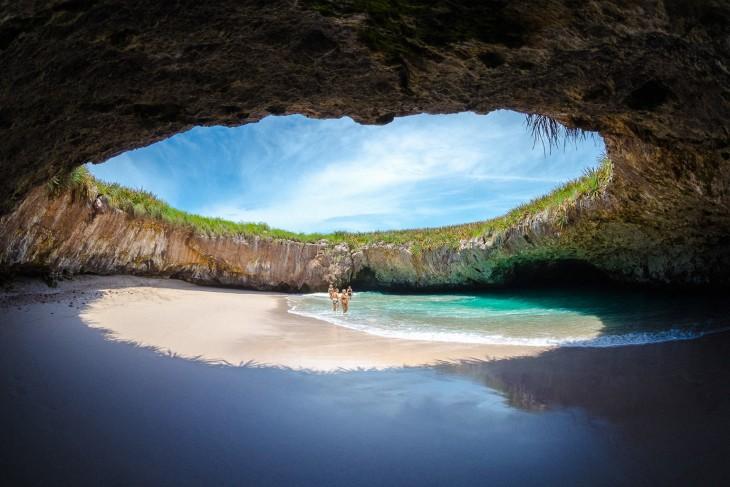 Foto de Playa Escondida en Nayarit México