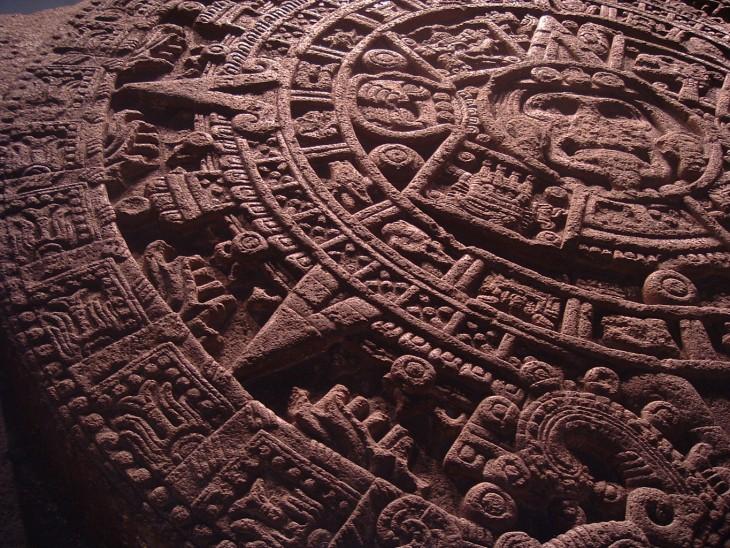 Piedra Azteca del Sol
