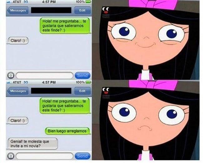 Mensaje de texto que rompió el corazón