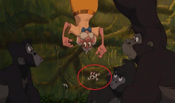 Escena de la película Tarzan