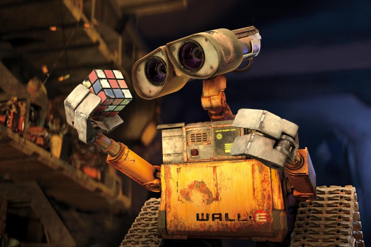Escena de la película Wall-E