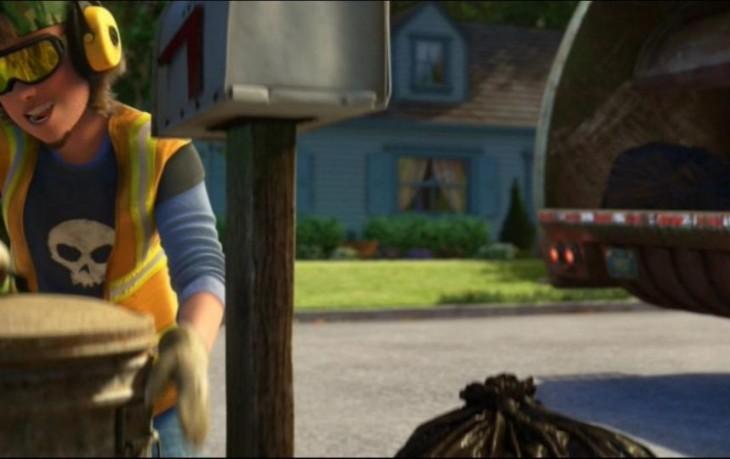 Escena de la película Toy Story 3
