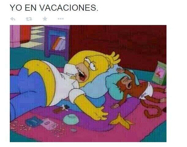 """Meme de """"yo"""" en vacaciones"""
