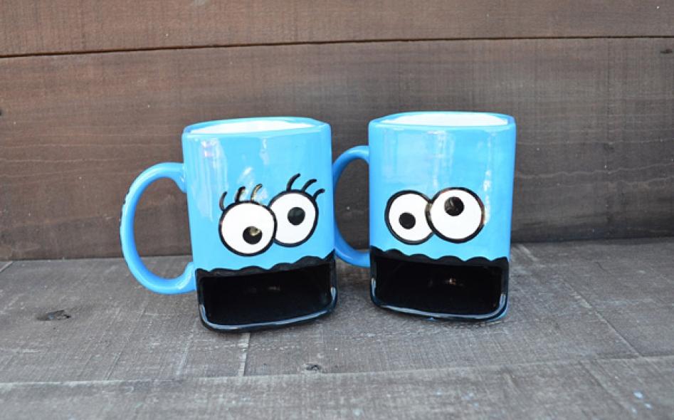 20 incre bles dise os de tazas para caf y t for Decoracion con tazas de cafe