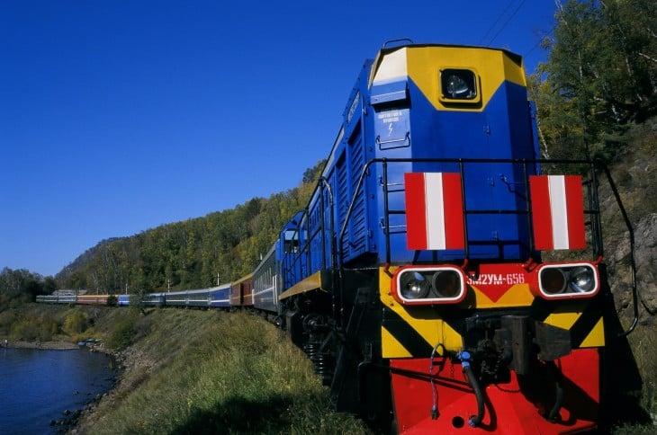 Crucero en el tren Golden Eagle Trans-Siberian Express