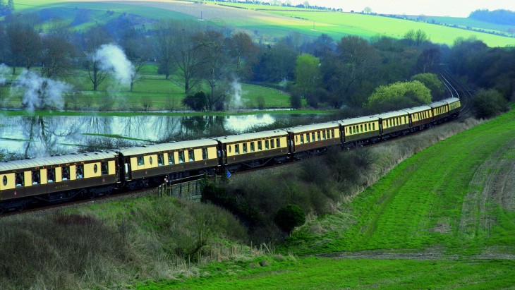 Viaje en el tren british pullman