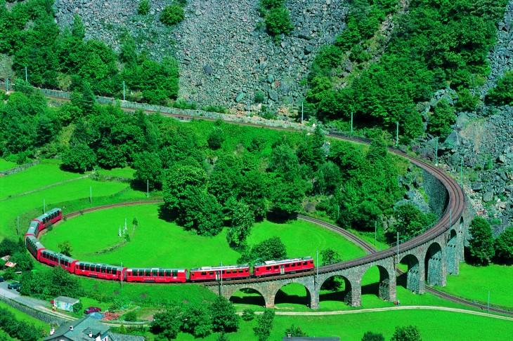 Ruta que hace el tren Banina Express