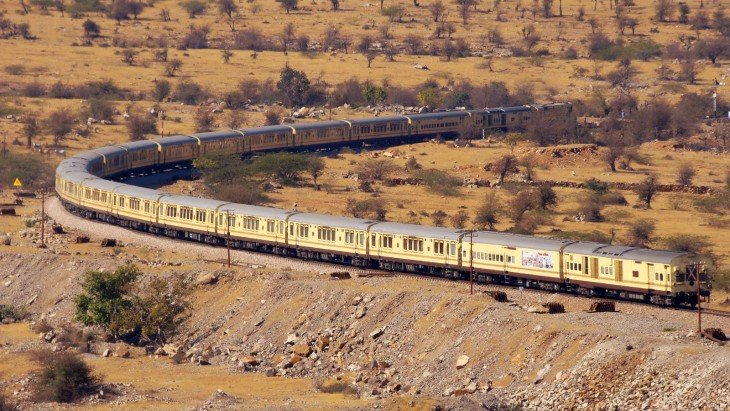 Tren Palace on Wheels en la India