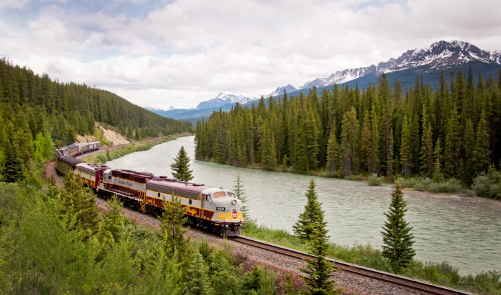 Tren Royal Canadian Pacific