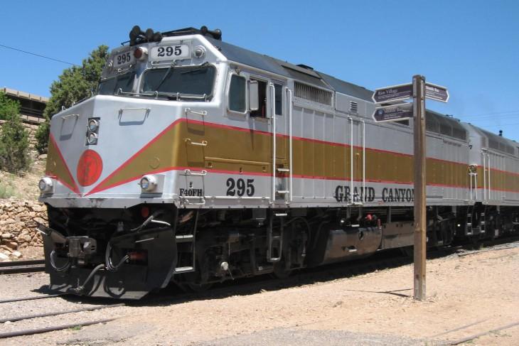 imagen que muestra El Grand Canyon Railway
