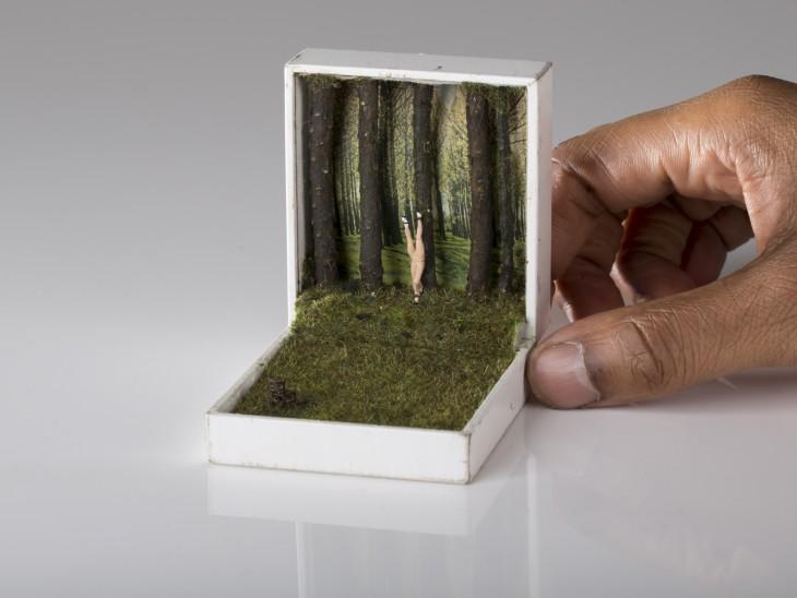 Dioramas del artista canadiense Talwst