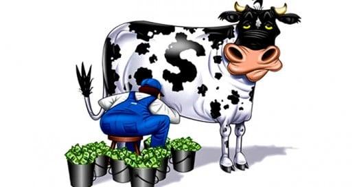 capitalismo alrededor del mundo explicado por 2 vacas