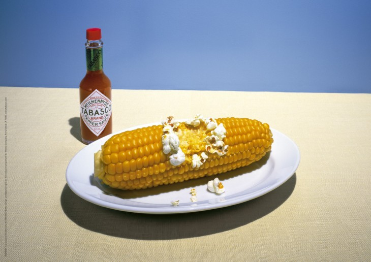 Tabasco, maiz, popcorn