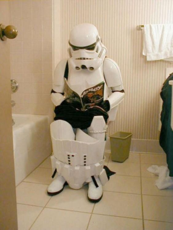 stormtrooper en el inodoro
