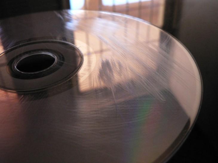 CD rayado