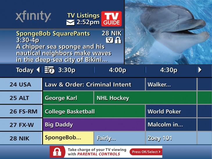Canal de TV guía
