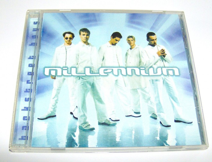 CD Millennium de los Backstreet Boys
