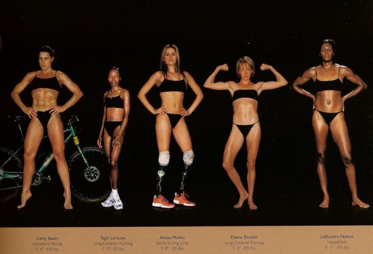 cuerpo cambia según el deporte que practiques