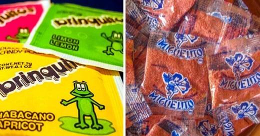 dulces que todo mexicano comio