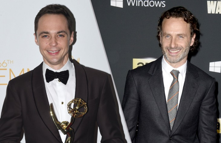 Jim Parsons y Andrew Lincoln