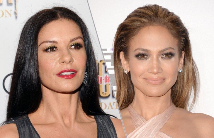 Catherine Zeta-Jones y Jennifer Lopez