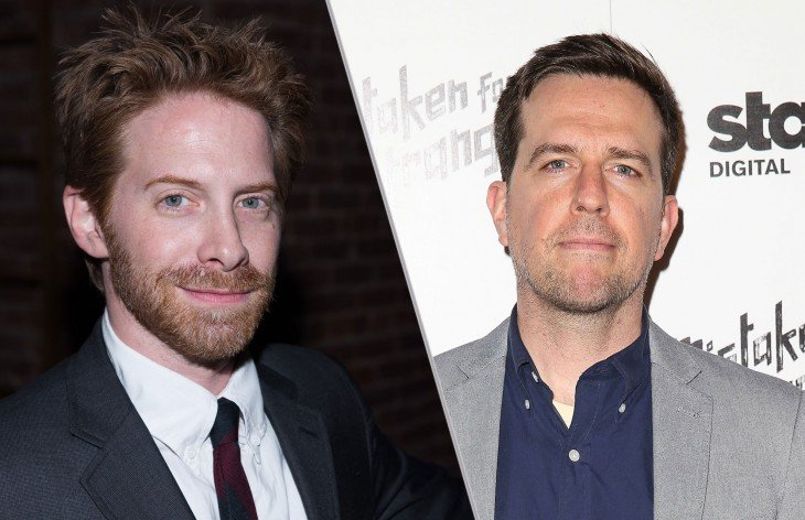 Ed Helms y Seth Green