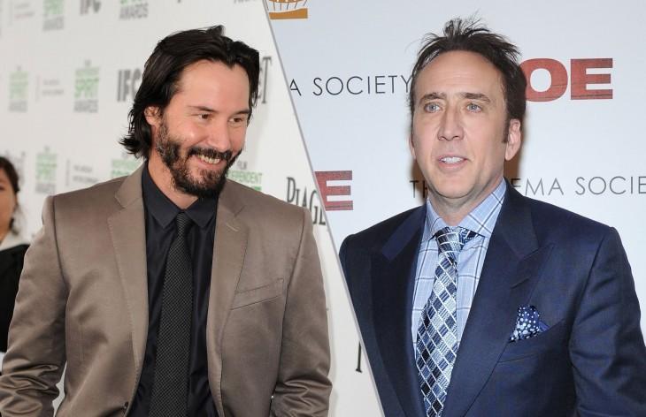 Nicolas Cage y Keanu Reeves