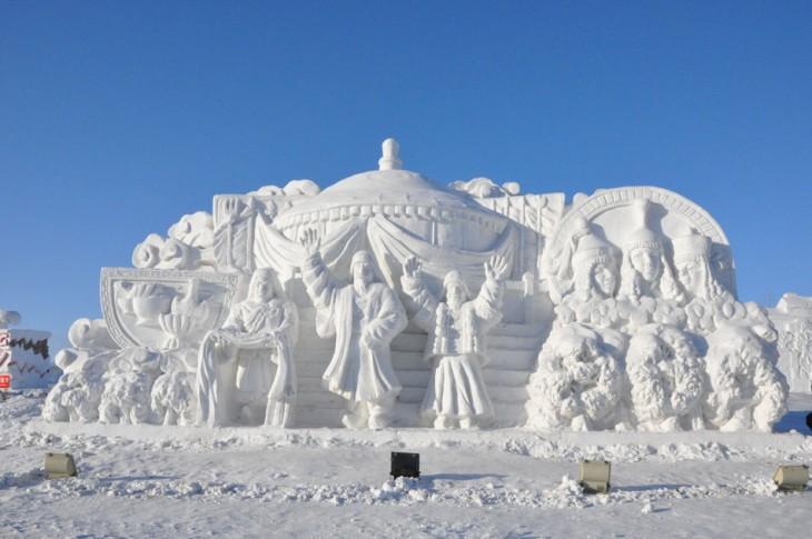 festival del hielo y la nieve en china (2)