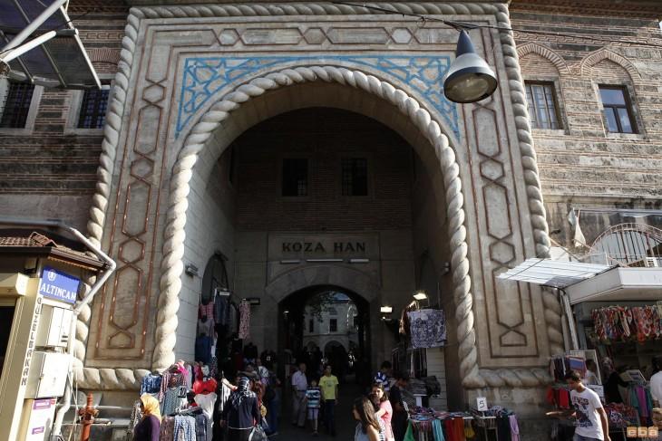 mercado de la seda en Estambul
