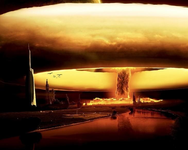 hongo nuclear atomico