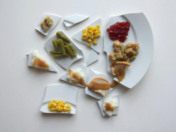 Rothstein, plto de comida al estilo de Pablo Picasso