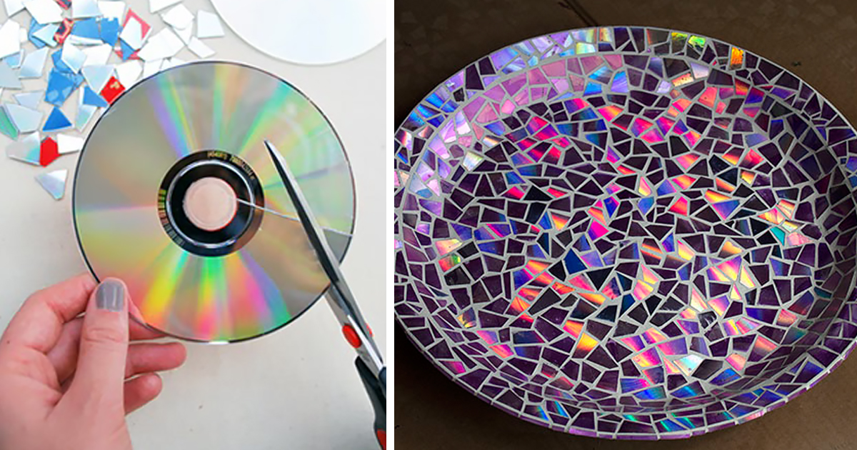 Вторая жизнь дисков своими руками легко и просто