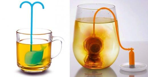 los infusores mas creativos para los amantes del te