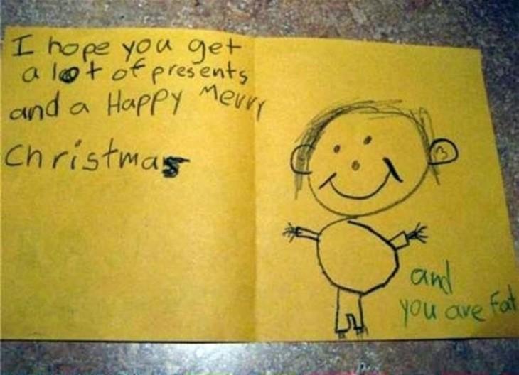 carta escrita en un papel amarillo con un dibujo