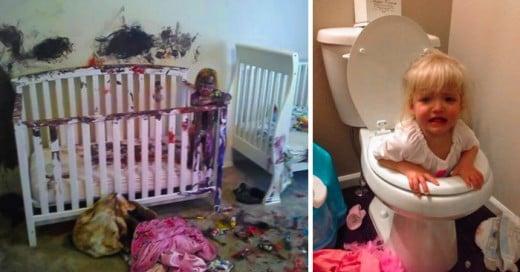 formas en que los niños arruinaron el dia a sus padres