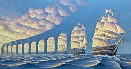 pinturas con ilusion optica