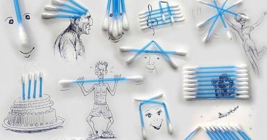 representaciones con objetos cotidianos