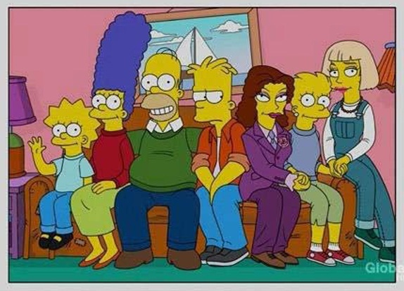 simpson Lisa con 2 novias