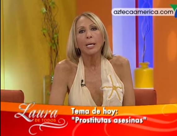 Laura bozzo en prostitutas asesinas