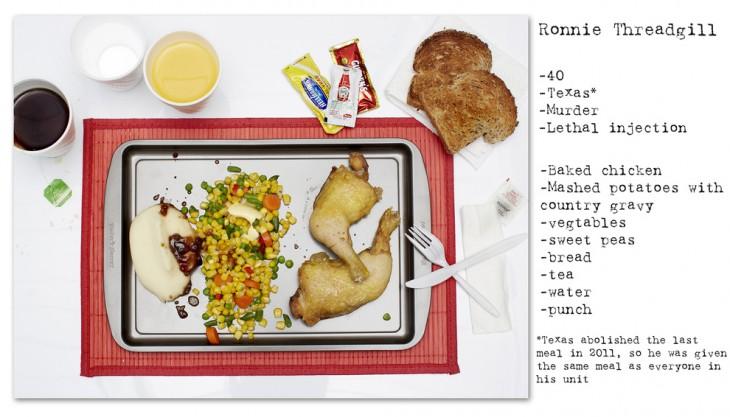 comidas de condenados