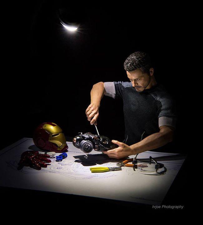 Ironman en versión irónica de Edy Hardjo.